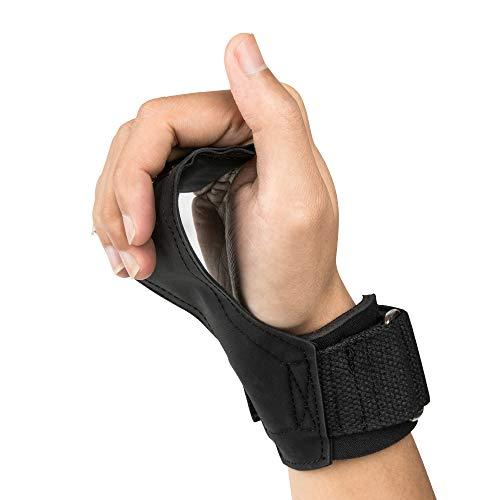 Zoarlan パワーグリップ PRO ゴム トレーニング グローブ 筋トレ 懸垂 グローブ 握力をサポート 握力補助 ケガ予防 滑り止め 男女兼用 左右セット
