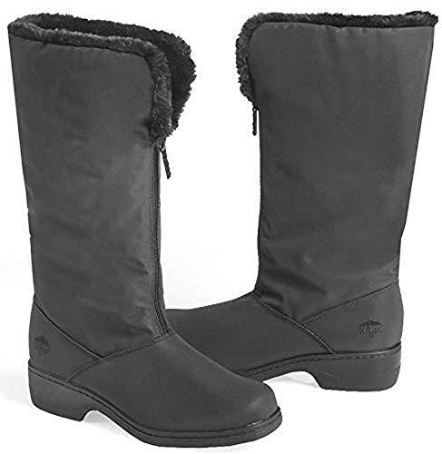 Totes Women's Comfort Snow Boot, Black, 7