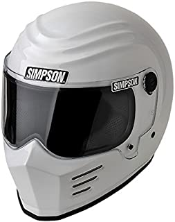 Simpson 28215L1 Outlaw Bandit Helmet M2015 Lrg White