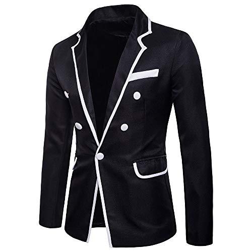 FRAUIT Heren Charm One Button Smoking Pak Dinner Jacket voor Party podium performance afstudeerbal outwear Fit pak blazer mantel patchwork pak jas Revers