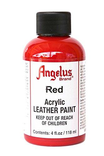 Angelus Acrylic Paint 4 Oz. (Red)