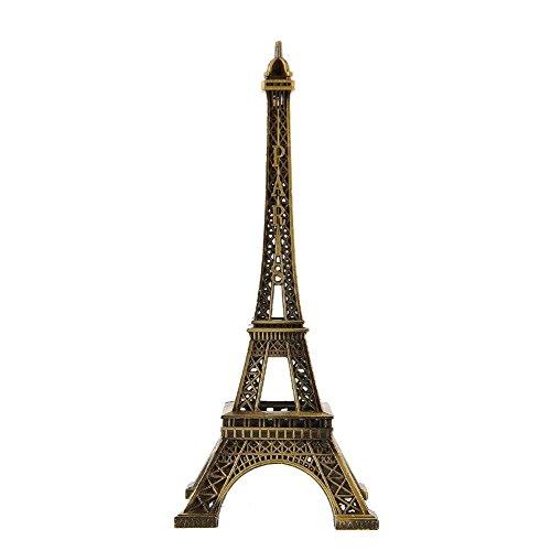 Grandey Decoración para el hogar de la Torre Eiffel de Par�