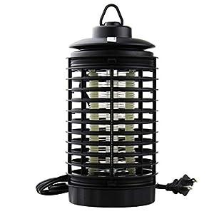 Lámpara Anti Mosquitos,ZARLLE Electrónica Mosquito de la Lámpara Mata Mosquitos El Mejor Segura y Eficaz Lámpara de Anti-Mosquito,Polillas, Moscas, Insectos con Luz UV