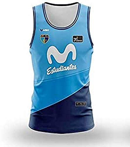 Movistar Estudiantes 1ª Equipación Juego 20-21 Camiseta, Unisex Adult, Azul, XL