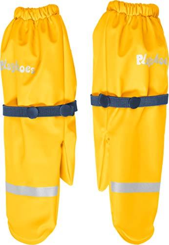 Playshoes Mädchen Matschhandschuh mit Fleece-Futter Handschuhe, Gelb (Gelb 12), 1 (Herstellergröße: 1)