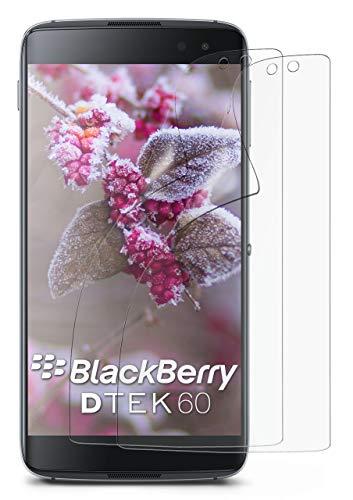 MoEx® Matte Anti Reflex Bildschirmschutzfolie passend für BlackBerry DTEK60   Gegen Reflexionen und Fett-Finger - Entspiegelt