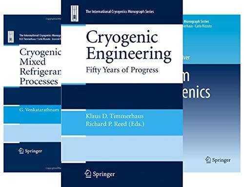 International Cryogenics Monograph (12 Book Series)