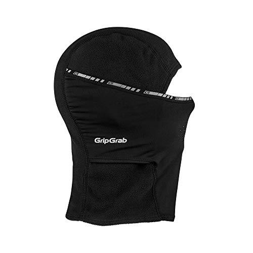 GripGrab Winter-Fahrradmaske und -mütze, Schwarz, M (57-60 cm)
