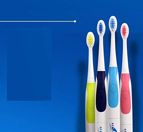 Generic Sonische, elektrische tandenborstel Vervangbare opzetborstel voor volwassen kind, tandenborstel - Donkerblauw
