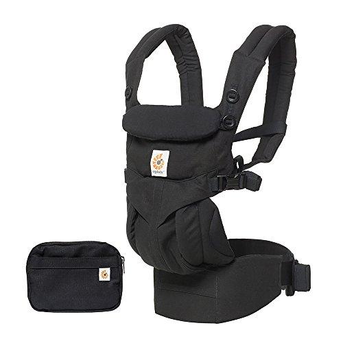 Ergobaby - Sac à dos, porte-bébé ergonomique, pour nouveau-né et bébés, gris perle