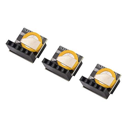 BEESCLOVER DS3231 Echtzeit-Uhr-Modul, 3 Stück, DS3231 RTC Echtzeit-Uhrmodul, 3,3 V/5 V, für Arduino Raspberry Pi TE771 ?DS3231