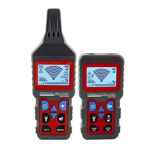 Trådspårare, bärbar telefonkabel lokalisering underjordisk rör detektor professionell kabelsökare