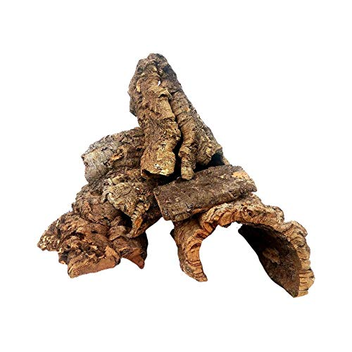 EZ Botanicals a Division of DBDPet's Cork Bark - 1lb (Assorted) - for Orchids, Airplants, Reptiles,...