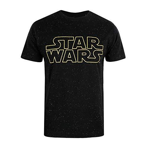 Star Wars Basic Logo voor heren Regular Fit Jumper, Grijs (Hellgrau)