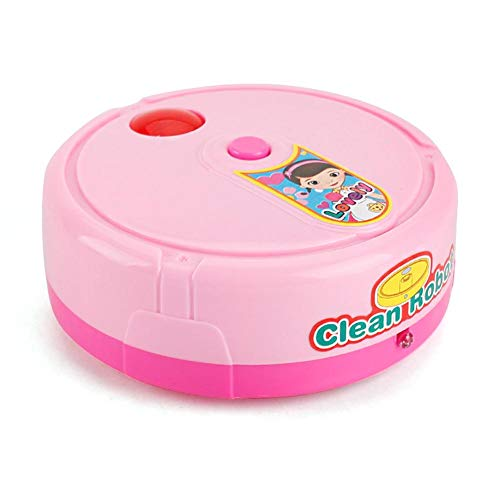 Kehrroboter Spielzeug Home Cleaning Tool Spielzeug für Kinder Mini-Kehrroboter Staubsauger Spielzeug 360 ° Reinigungswinkel, 11×11×3.7cm