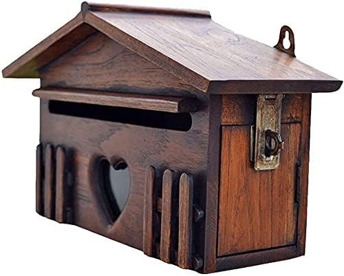 Regular discount FACAZ Wall Mount Mailbox Wooden store Box Idyllic Farmh Letter
