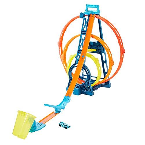 Hot Wheels GLC96 - Track Builder Unlimited Looping Set, Spielzeug ab 6 Jahren