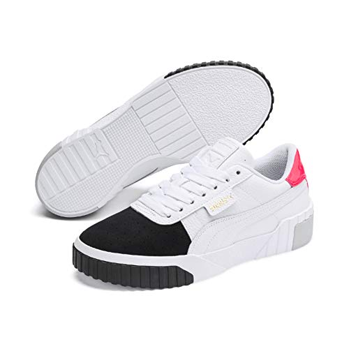 Puma Damen Cali Remix WN's' Sneaker, White Black 02, 38 EU