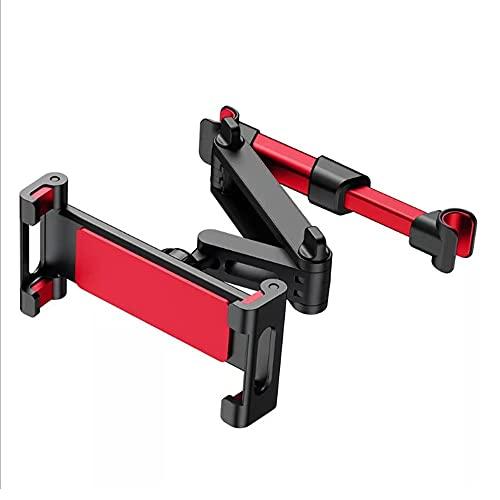 YRA 1 pieza plegable soporte de la tableta del asiento trasero del coche reposacabezas montaje titular del teléfono móvil