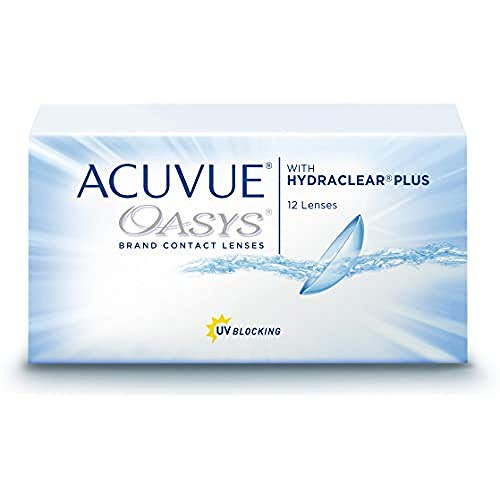 Acuvue Oasys 2-Wochenlinsen weich, 12 Stück / BC 8.8 mm / DIA 14 / -6.5 Dioptrien