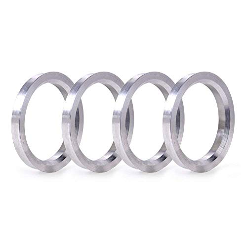 DCVAMOUS Alloy Aluminum Hub Centric Rings 72.6 to 66.1 Set of 4 Performance Spigot Hubrings fit 66.1mm Vehicle Hub and 72.6mm Wheel Center Bore Compatible with Nissan Infiniti