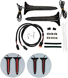 Motorcycle Led Saddlebag Accents Tail Brake Light For Harley Touring Street Electra Glide Road King