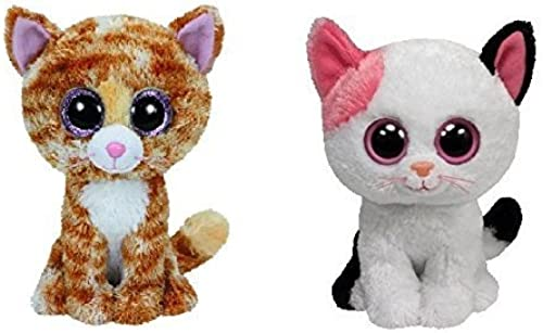 Ty Muffin & Tabitha the Cats Beanie Boos Set of 2 Plush Toys by Ty Corp