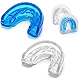 Coolrunner Double Braces Mouth Guard, Mouth Guard Sports, Athletic Mouth Guards, Youth Mouthguard for Upper and Lower Teeth Protection, No Boiling Required for Youth, Teenager