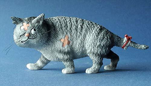 Los Gatos de Dubout - Gros Matou - Mini 13,5 cm - segun un dibujo de Albert Dubout #29