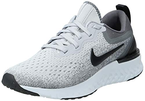 Nike Women's Odyssey React Running Shoe Wolf Grey/Black-Dark Grey-Pure Platinum 10.5