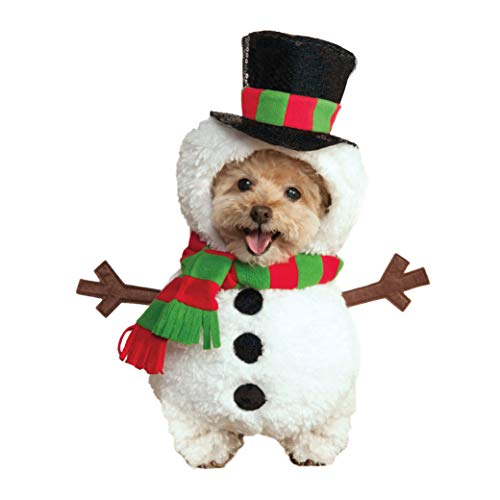 Walking Frosty the Snowman Dog Costume