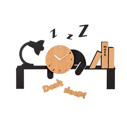 LINGZHIGAN Cartoon Creative Wall Clock Kid Bedroom Décoration Clock Chambre Bureau Kindergarten Living Room