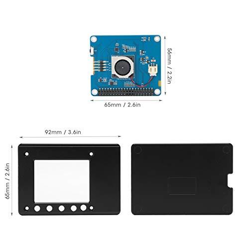 Exliy TFT-Touchscreen für Himbeeren, 2,4-Zoll-PPT-resistiver Touchscreen mit Stift, Touchscreen-Monitor, Unterstützung für Raspberry Pi 4B 1G / 2G / 4G(2.4 inch Screen + Shell)