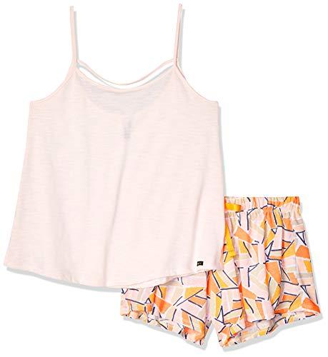 Set Pijama Dama Camiseta y Short Estampado Talla MD
