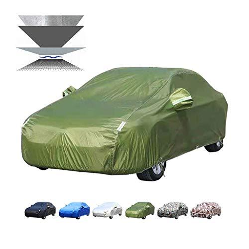 Guoguocy Autoplanen Car-Cover, mit hohen Dichte PP Baumwolle, Kompatibel mit Car-Cover Opel Zafira, wasserdicht, Frostschutz-, Allwetterschutz (Color : D, Size : 4467 * 1801 * 1635MM)