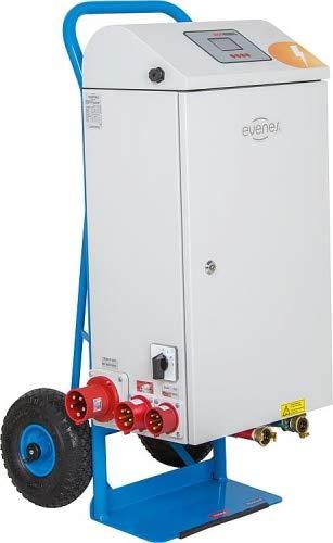 Elektrische Mobile Heizzentrale Elektroheizzentrale 21 bis 36 kW Notheizung Bauheizung Bautrockner Auswahl-Heizzentrale Typ 21 kW