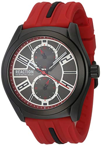 KENNETH COLE REACTION RK50900004 Reloj Kenneth Cole Reaction for Hombre, Rojo, Hombre Estándar