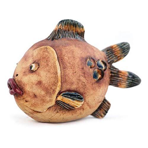 Manufaktur Martinshof Stockfigur Fisch, bemalt