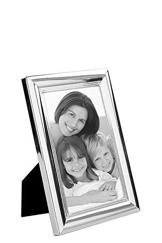 Fink Fotorahmen Leon - versilbert zum Stellen und Hängen Format 9x13 cm