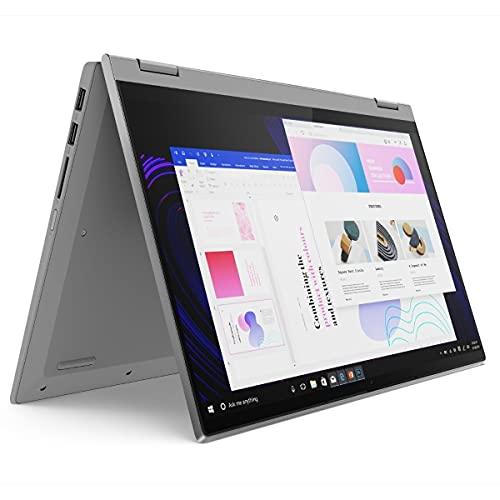 """Lenovo IdeaPad Flex - Convertible (2-in-1) - 14\"""" FHD Touch-Display - Ryzen 5 5500U - 8GB RAM - 500GB SSD - beleuchtete Tastatur - Windows 10 Pro #mit Funkmaus +Notebooktasche"""