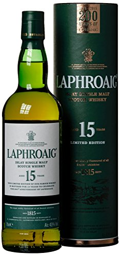 Laphroaig 15 Years Old Limited Edition mit Geschenkverpackung (1 x 0.7 l)