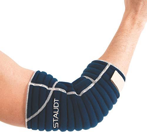Staudt Ellbogen Manschette Active XL (Paar)   Nachts getragene Bandage zur Linderung von Ellbogenschmerzen mittels Mikro-Massage bei Nacht