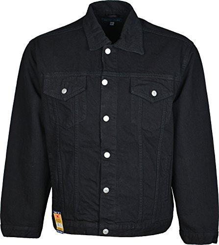 adidas Azteck Jeans-Jacke für Herren mit Knopfleiste vorn