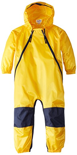 Tuffo Boys' Toddler Coverall, Yellow, 2T