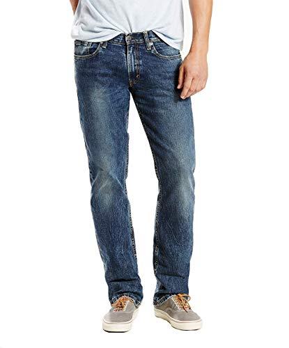 Levi's Men's 514 Straight Fit Jeans, Blue Stone - Stretch (Waterless), 34W x 30L