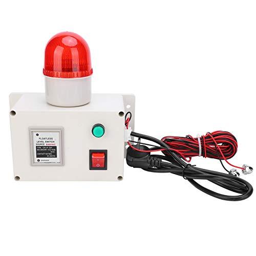 Sensor de Alto Nivel de líquido Controlador de Alarma de Agua Completa 90dB con silenciador