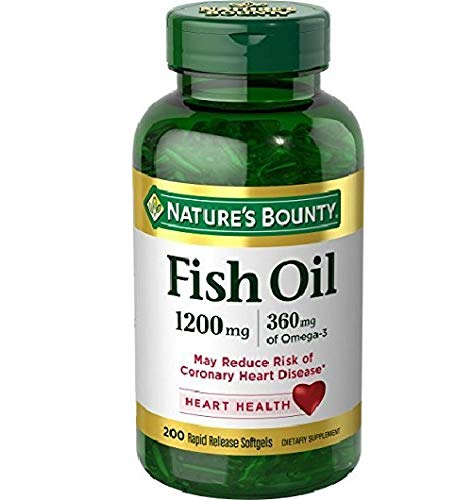 Fish Oil by Nature's Bounty