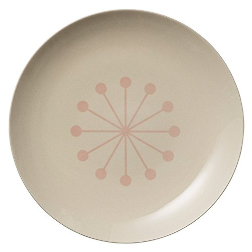 Bloom ingville Alberte Multicolore Assiettes plates rose