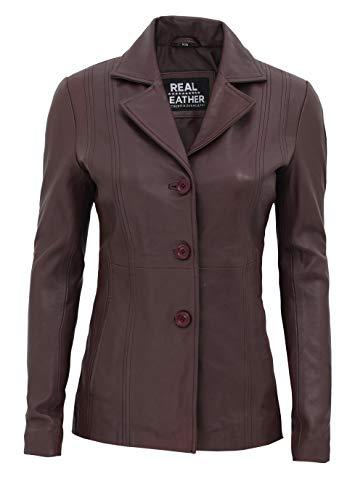 DAVID.ANN Men's Casual Slim Fit One Button Center Vent Blazer Jacket,Grey #3625,Small