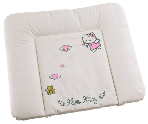 Rotho Babydesign 20062 0001 65 - Wickelauflage, Motiv Hello Kitty, weiß